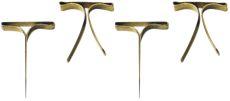 Musterbeutelklammern Flachkopf 16 mm