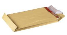 Faltentaschen B4, ohne Fenster, mit 20 mm-Falte und Stehboden, 130 g/qm, braun, 10 Stück