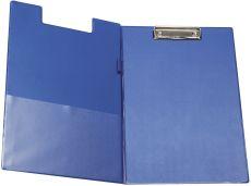 Klemm-Mappe mit Folienüberzug - blau