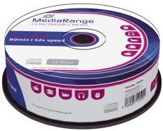 CD-R Rohlinge - 700MB/80Min, 52-fach/Spindel, 25 Stück