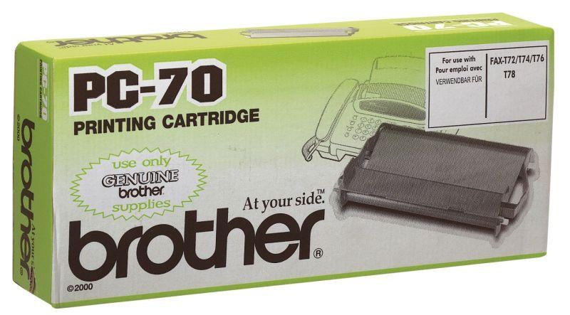 Brother PC70 Mehrfachkassette inkl. TTR-Rolle (1 Stück)