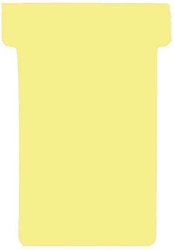 Kartentafel-Zubehör T-Karten, Index 2, gelb