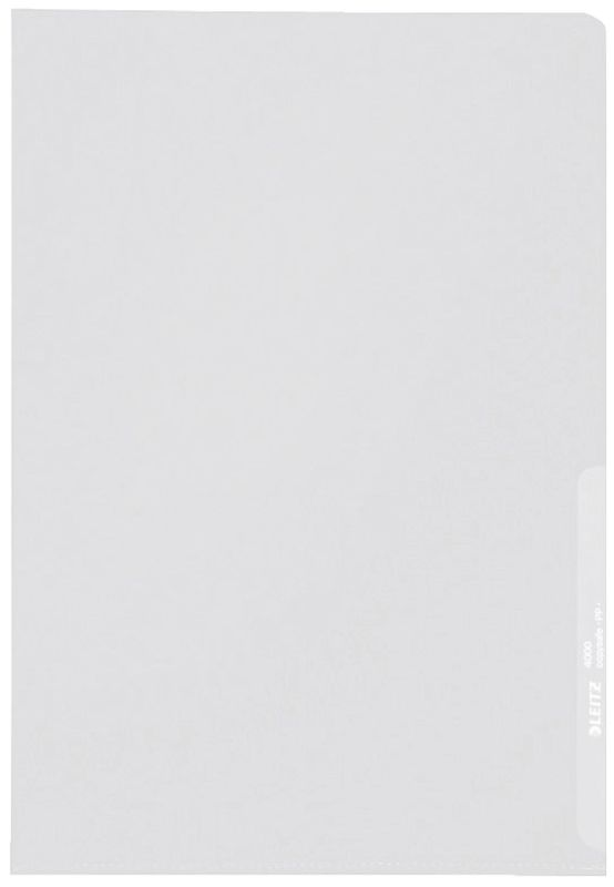 Standard Sichthüllen  für A4, PP-Folie genarbt, 0,13 mm