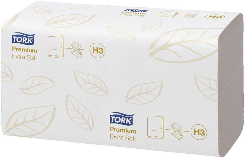 extra weiche Zickzack Handtücher - 2-lagig Tissue plus, hochweiß, mit Dekorprägung