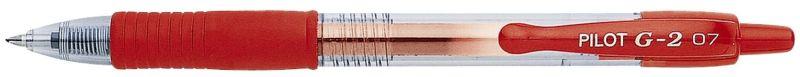 Gelschreiber G2-7, 0,4 mm, Gehäuse+Schreibfarbe rot