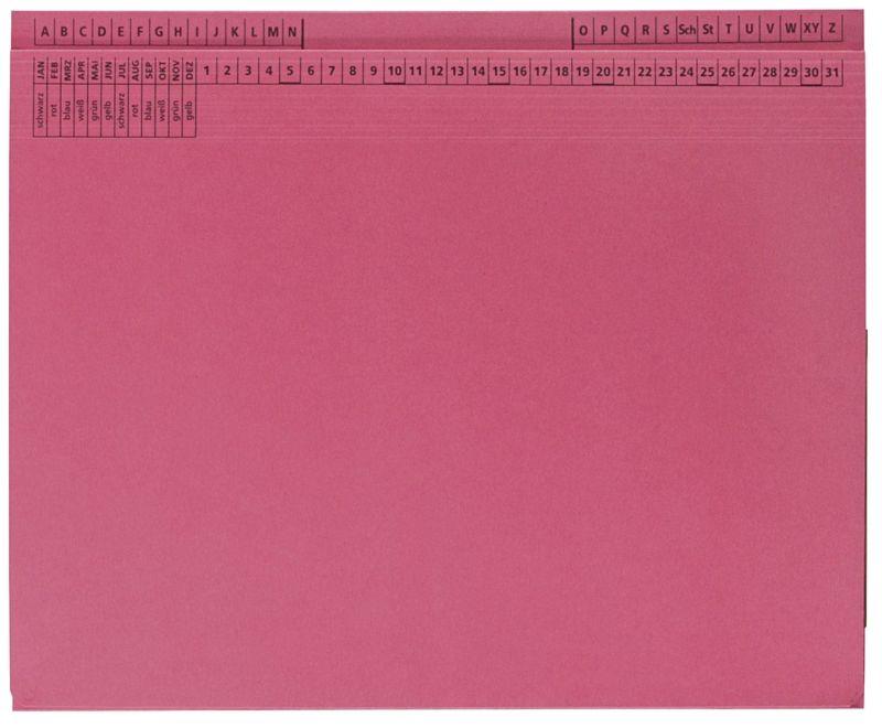 Kanzleihefter B ungefalzt - Rechtsheftung/Linksheftung, 1 Tasche