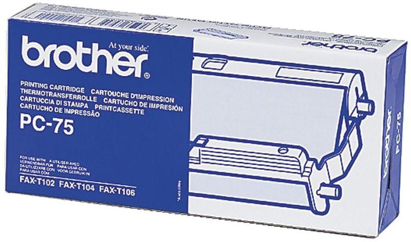 Brother PC75 Mehrfachkassette inkl. TTR-Rolle (1 Stück)