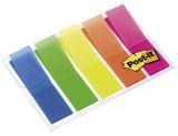Haftstreifen Index Leuchtfarben, 5 Leuchtfarben mit je 20 Streifen im Etui