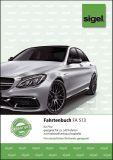 Fahrtenbuch für Pkw - mit Klammerheftung. A5. 32 Blatt