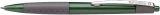 Druckkugelschreiber LOOX mit Soft-Grip-Zone, M grün, dokumentenecht.