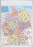 Kartentafel Deutschland, beschreibbar, pinnbar,  100 x 140 cm