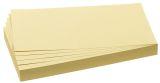 Moderations-Karten Rechtecke 20,5 x 9,5 cm