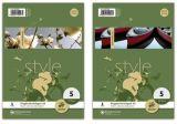 Format-X Ringbucheinlagen A5/A4 Größe A5, Packung mit 50 Blatt