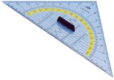 Geometrie-Dreieck - 250 mm, mit abnehmbarem Griff