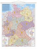 Kartentafel Deutschland, laminiert, beschreibbar,  97 x 137 cm