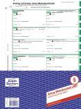 Antrag auf Mahnbescheid, SD, 2-seitig, A4, 25er Pack