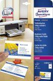 Visitenkarten Quick&Clean f. Colour Laser 220g/m² DIN A4 85x54mm