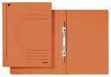3040 Spiralhefter, A4, kfm. Heftung, Colorspankarton, orange