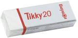 Radierer Tikky 20, Polyvynilchlorid, 22 x 13 x 66 mm