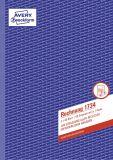 Rechnung, 1. und 2. Blatt bedruckt, SD, DIN A4, 2x40 Blatt