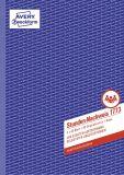 Stundennachweis, 1. und 2. Blatt bedruckt, SD, DIN A4, 2x40 Bl.