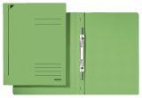 3040 Spiralhefter, A4, kfm. Heftung, Colorspankarton, grün