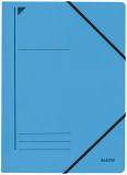 3980 Eckspanner, A4, Füllhöhe 300 Blatt, Colorspankarton, blau