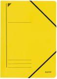 3980 Eckspanner, A4, Füllhöhe 300 Blatt, Colorspankarton, gelb