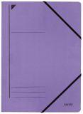 3980 Eckspanner, A4, Füllhöhe 300 Blatt, Colorspankarton, violett