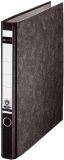 1040 Ringordner, A4, Hartpappe, 2 Ringe, 35 mm, schwarz