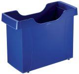 1908 Hängemappenbox Uni-Box Plus, für Hängemappen A4, Polystyrol, blau