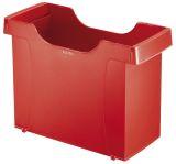 1908 Hängemappenbox Uni-Box Plus, für Hängemappen A4, Polystyrol, rot