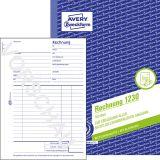 Rechnung, Mikroperforation, DIN A5, 100 Blatt