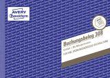 Buchungsbeleg, 50 Originale mit Mikroperforation, DIN A5 quer