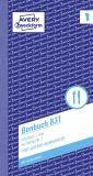 Bonbuch rosa, 1. und 2. Blatt bedruckt, 105x198mm, 2x50 Blatt