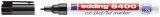 8400 CD-Marker für permanente Beschriftung, Strichstärke ca. 0,5 - 1 mm - schwarz