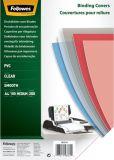 Deckblätter - A4, PVC, transparent, 100 Stück