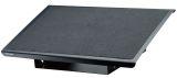 Robuste Fußstütze Professional Series - 482 x 98 x 76 mm, Metall, schwarz