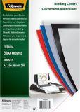 Deckblätter Fantasie - A4, PP, transparent/matt,100 Stück