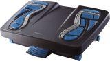 Fußstütze Energizer - Reflexzonen-Massageoberfläche, schwarz-blau