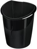 Papierkorb Ellypse - schwarz, 15 Liter