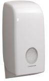 AQUARIUS* Spender für Einzelblatt Toilet Tissue - weiß, Model 6946, passendes Papier 8509
