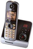Telefon KX-TG6721GB schnurlos titan/schwarz