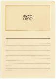 ELCO Sichtmappen Ordo classico - mit Sichtfenster und Linien,hel