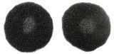 Ohrpolster für Kopfhörer Deluxe - 2 Stück, schwarz