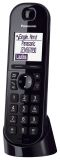 Telefon KX-TGQ200GB - schnurloses, schwarz