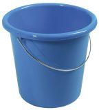 Eimer - Plastik, rund, 10 Liter, blau