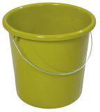 Eimer - Plastik, rund, 10 Liter, kiwi