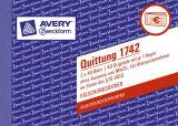 1742 Quittung Kleinunternehmer, 1. und 2. Blatt bedruckt, SD, DIN A6 quer, 2x40 Blatt
