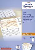 2817-200 Sepa-Überweisung - A4, ohne Software, 200 Blatt